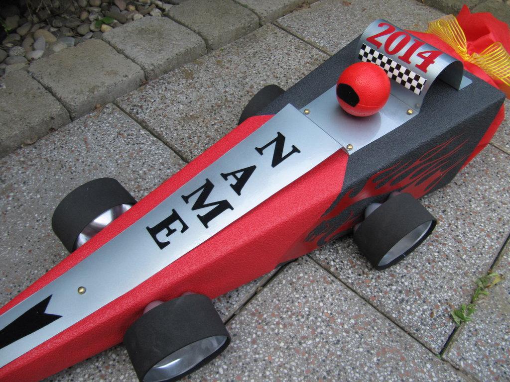 Geschwistertute Rennauto Auto Rennwagen Car Formel Schultute